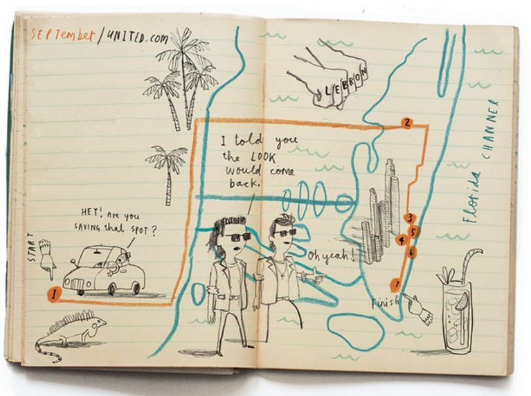 Miami © Oliver Jeffers for Hemisphere