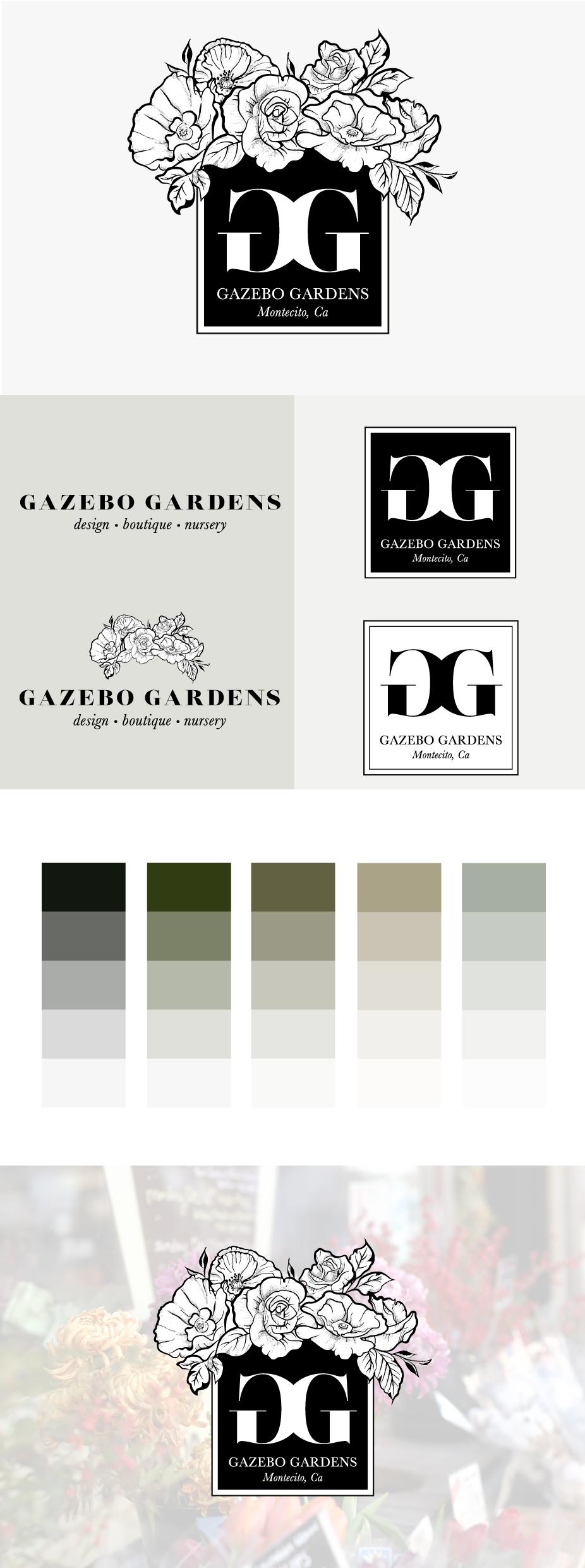 florist branding logo design