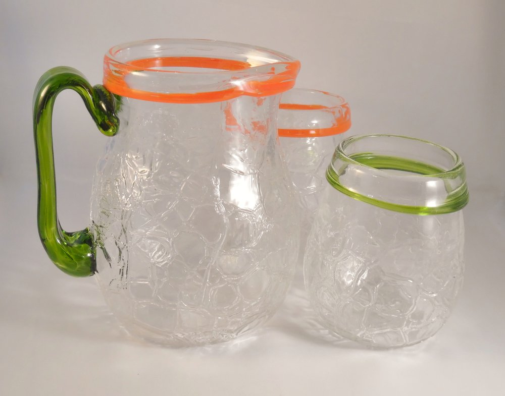 Pitcher and Glasses by Nicole Tremblay