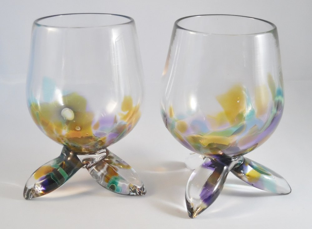 Wine Glasses by Nicole Tremblay