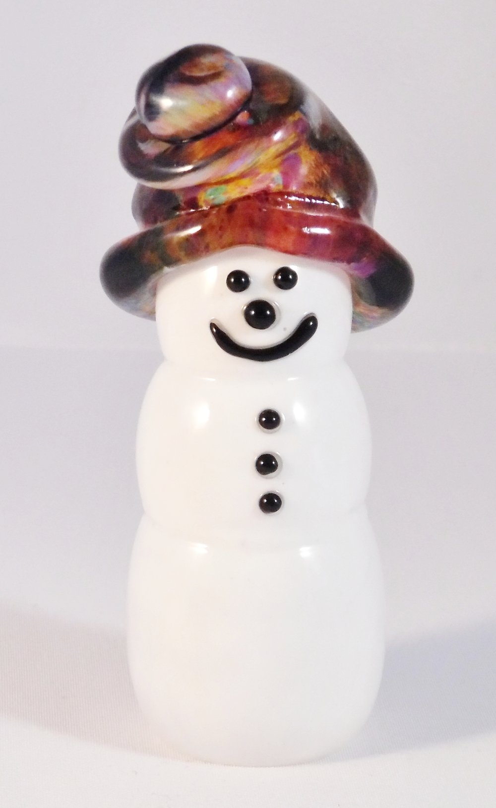 Snowman by Nicole Tremblay