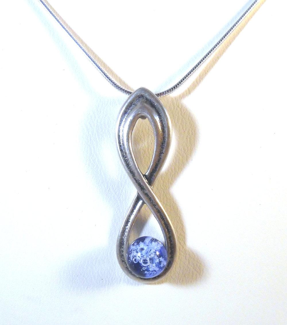 Infinity Pendant by Nicole Tremblay