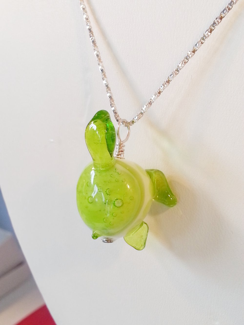 Turtle Pendant by Nicole Tremblay