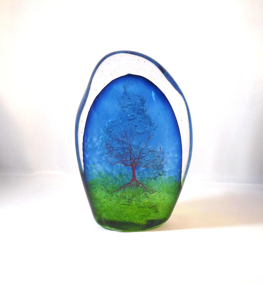 Tree of Life Stone - Serenity by Nicole Tremblay