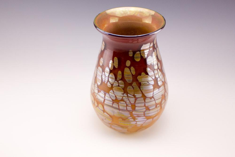 """Reflect Spots""  Fireweed Glass Studio"