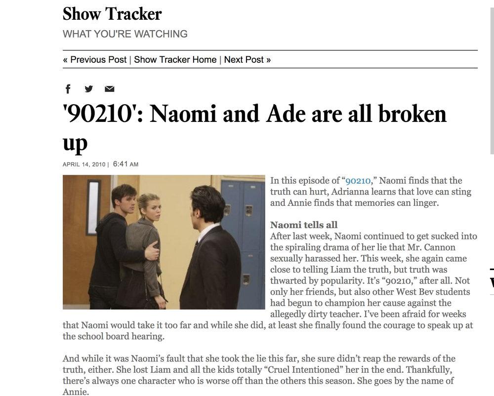 90210 review LA Times