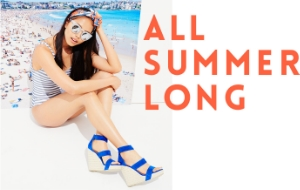 STEVE MADDEN'S SUMMER LOOKBOOK