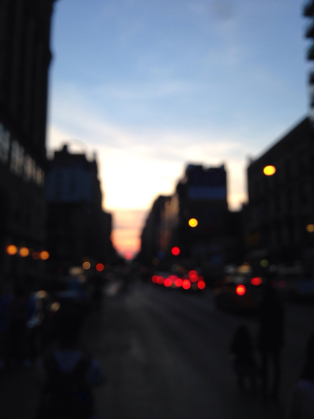 NYC Blurred. 2015