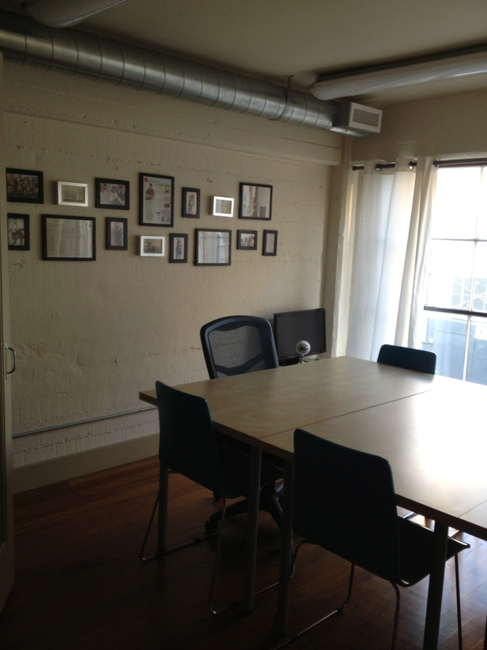 Our new conference room