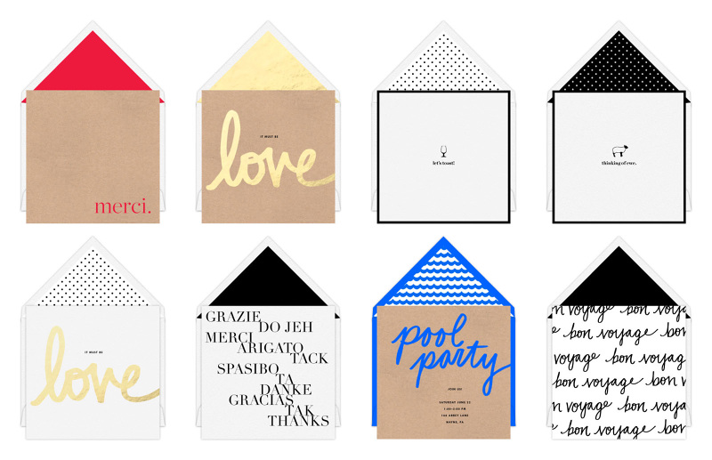 Card designs for J.Crew