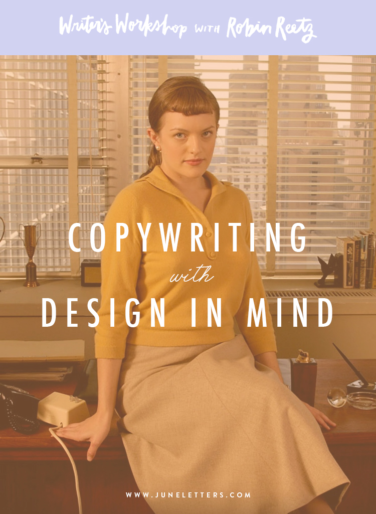 Copywriting design