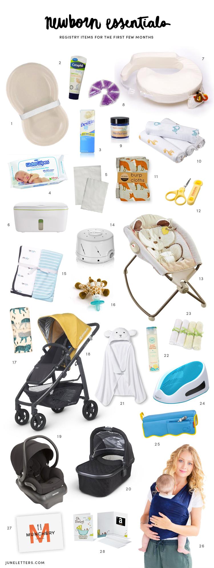Newborn Essentials Registry