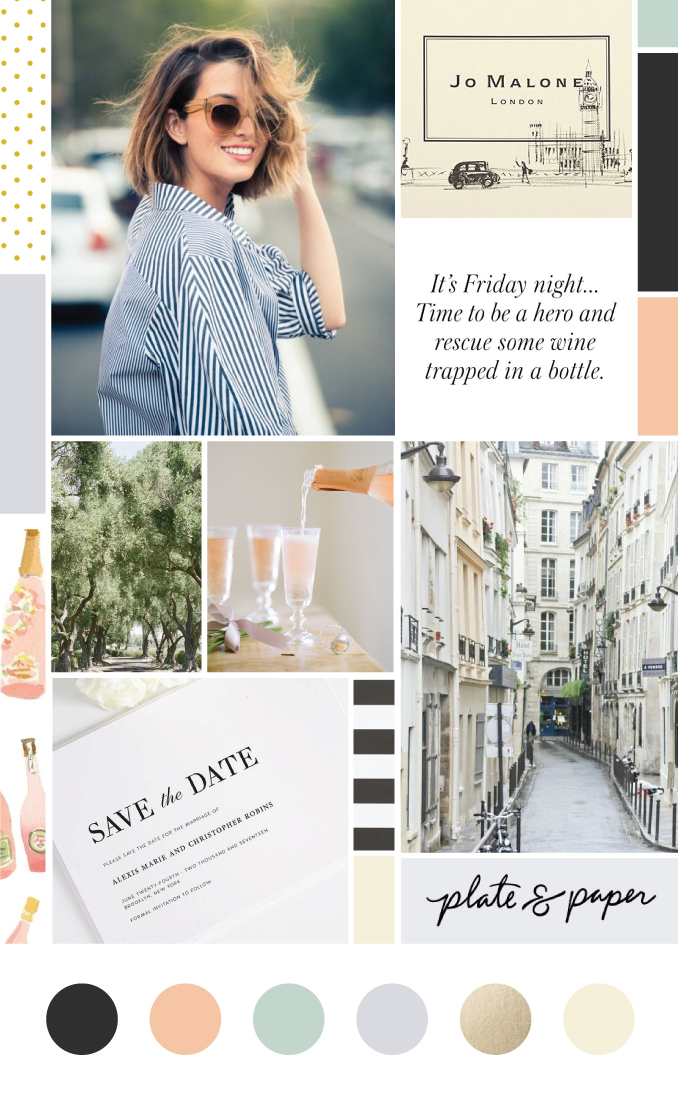 June Letters Studio Everly Market Mood Board