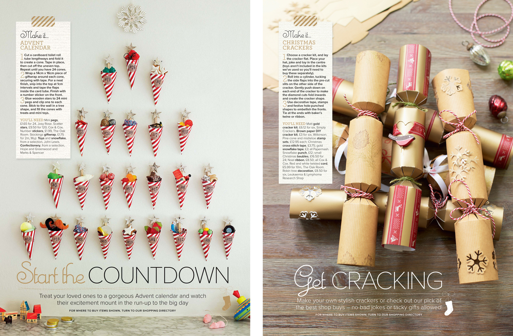 8b. Ideal Home's Complete Guide to Christmas 2012 Make your own Crackers Craft Project by Interior Stylist Joanna Thornhill.jpg