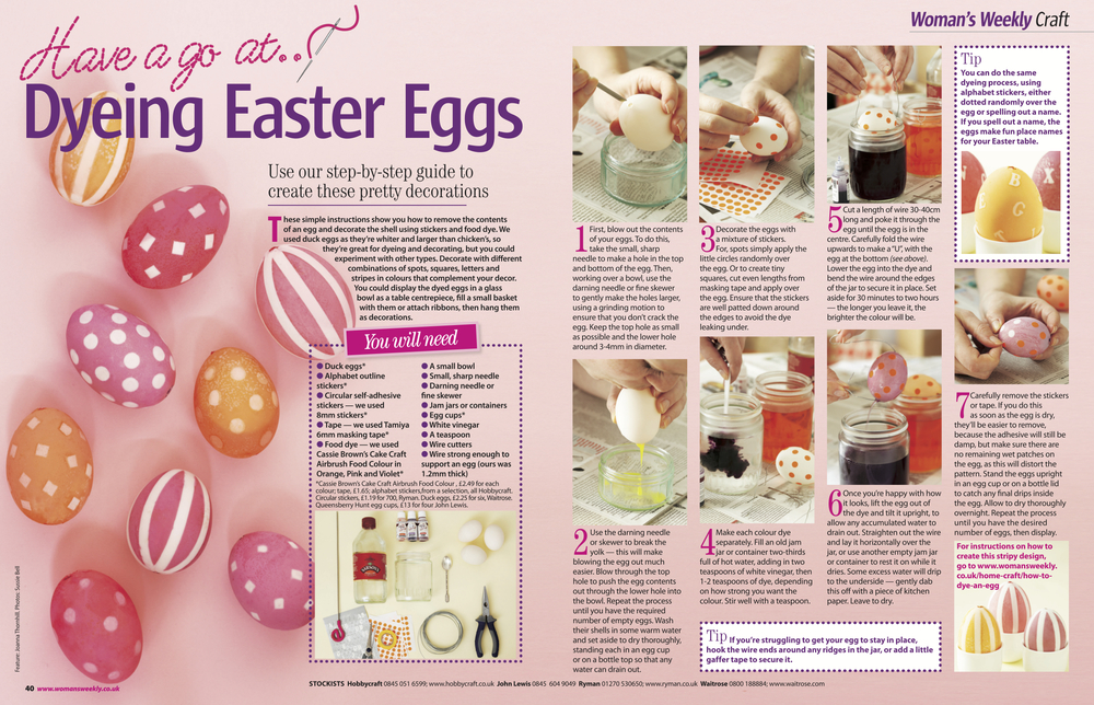 10. Woman's Weekly magazine Have a go at… Dying Easter Eggs project by Interior Stylist Joanna Thornhill.jpg