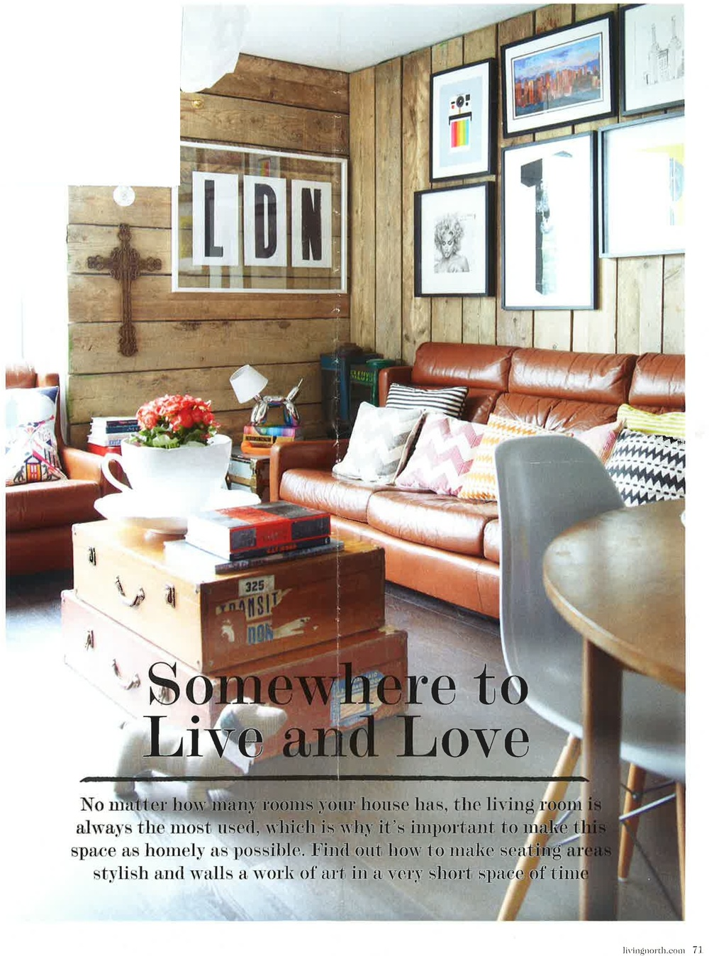 Living North magazine, April 2014