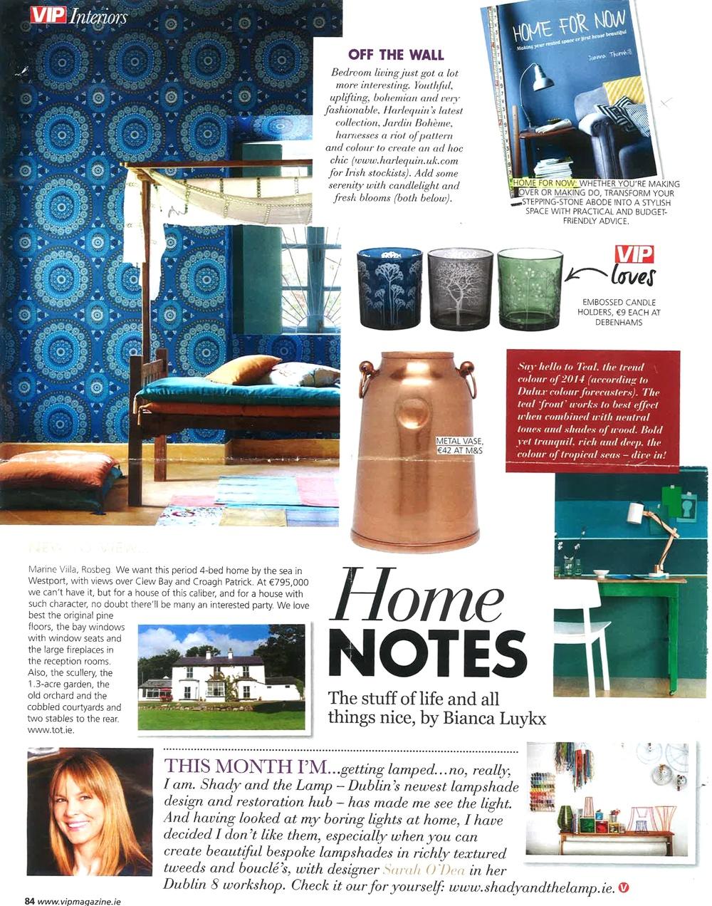 VIP magazine, April 2014
