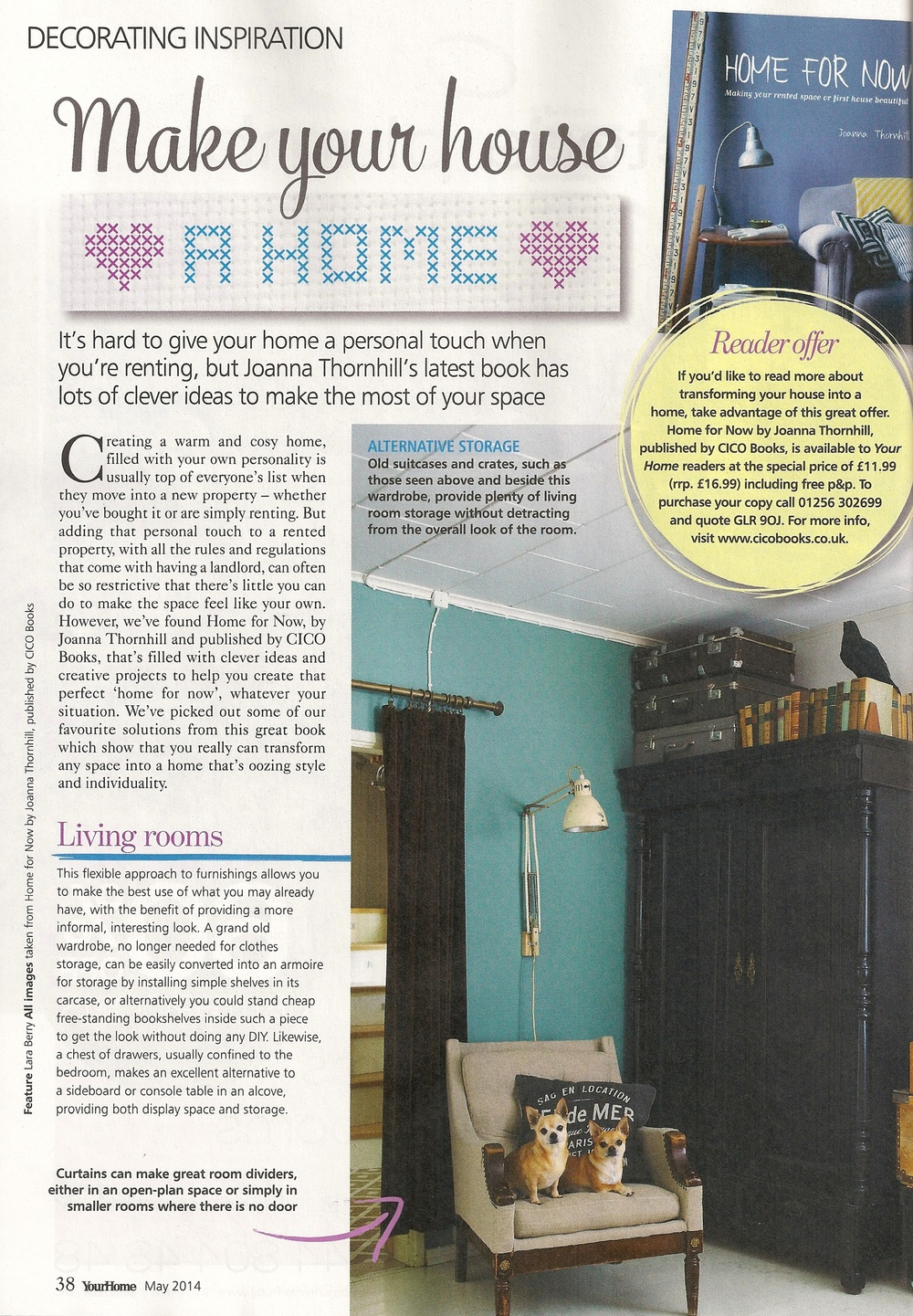 Your Home magazine, May 2014