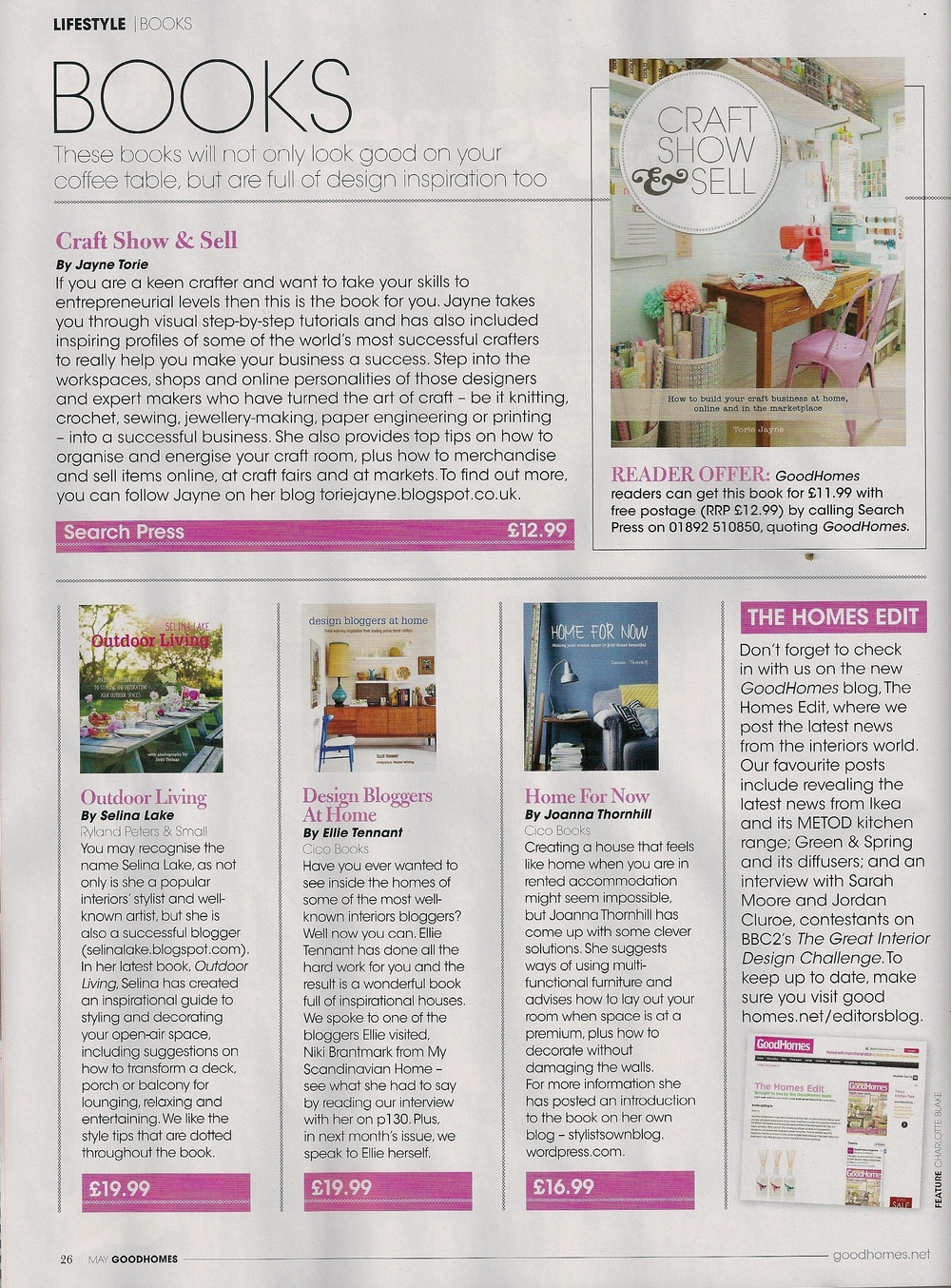 Good Homes magazine, May 2014