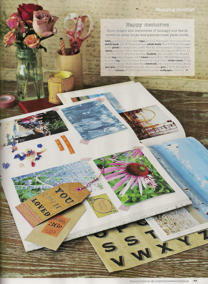 Your Summer Organised feature by Joanna Thornhill, CH&I Mag June14 P4