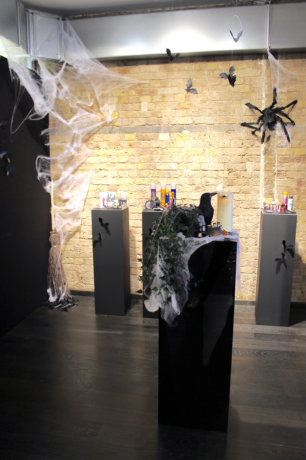 Superdrug Halloween 2016 Display Space Joanna Thornhill