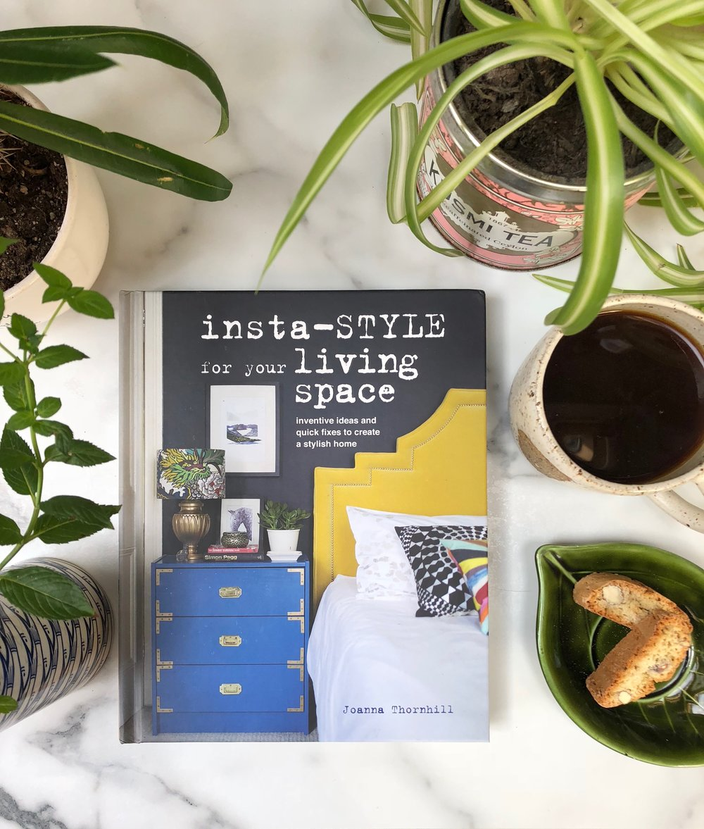 Insta-Style for Your Living Space by Joanna Thornhill Cover Lifestyle Shot