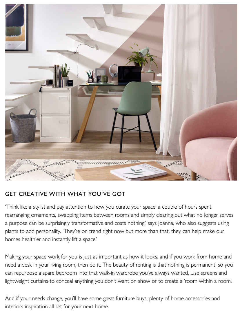John Lewis The Edit Add Personality to Rented Home article feat. Joanna Thornhill P4.png