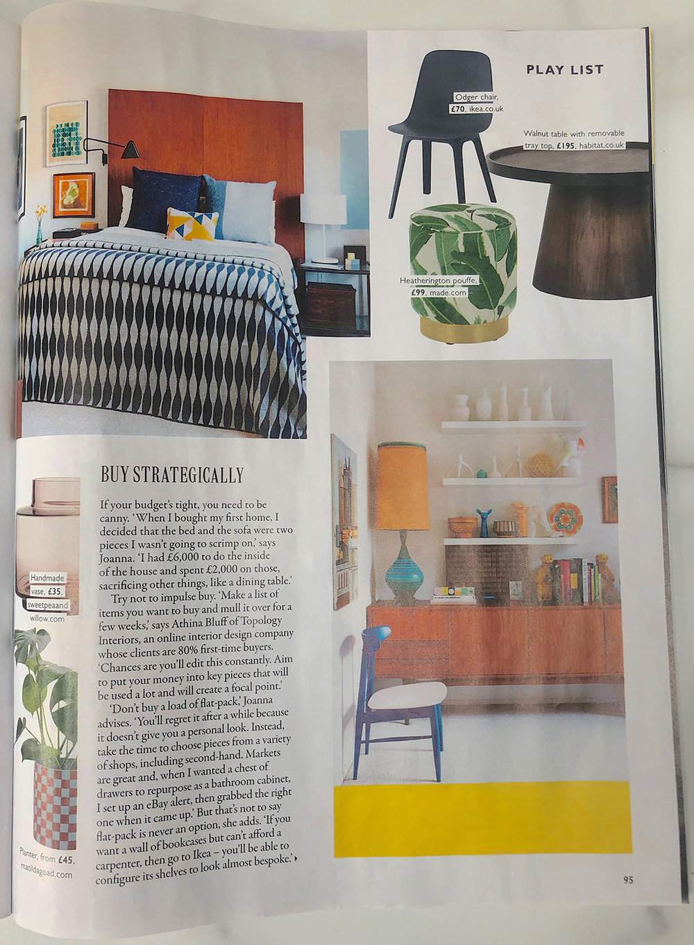 Grazia Kit Out your First Home feature with Joanna Thornhill of My Bedroom is an Office 9th March19 P3.jpg