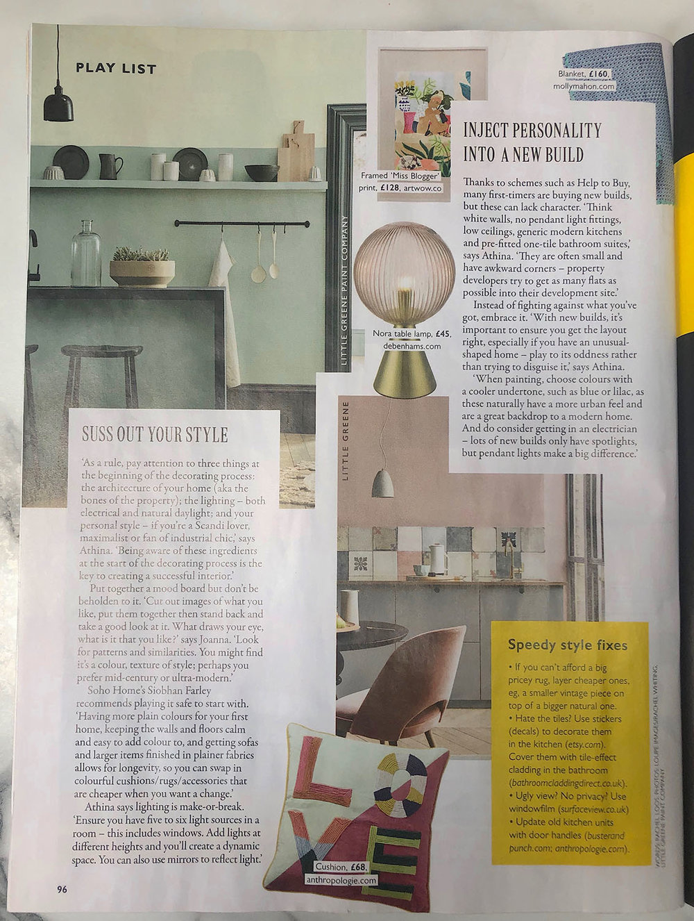 Grazia Kit Out your First Home feature with Joanna Thornhill of My Bedroom is an Office 9th March19 P4.jpg