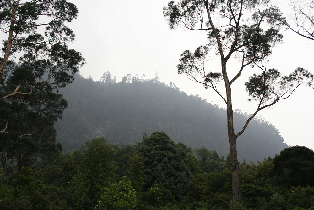 a view of Monserrate from the Circunvalar