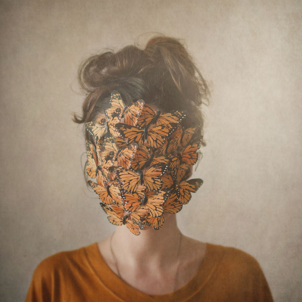 orange, or the return of the lady with the butterflies, 2012