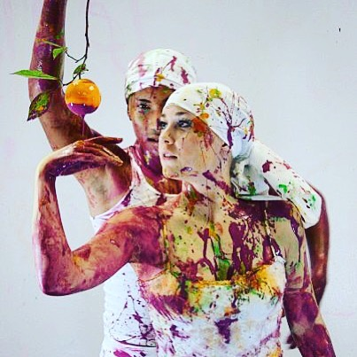"A favorite from ""Fresh""; our edible garden of eden-like culinary performance art show.  Photo: Tisse Mallon  #ilovedrip #fresh #culinaryart #performanceart #valentinesday #foodandwinefestival"