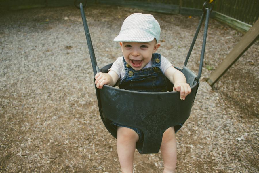 We be swingin'.