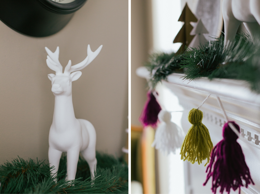 Christmas Mantel :: The Arrow House