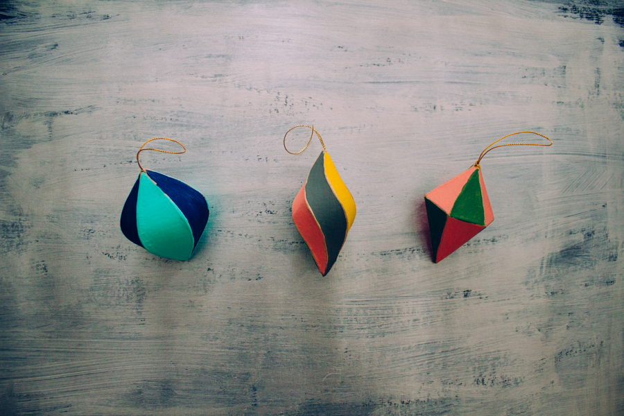 Painted Ornaments :: The Arrow House