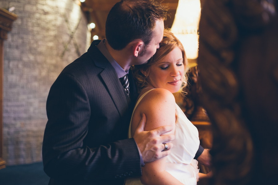 Intimate Winter Wedding :: The Arrow House