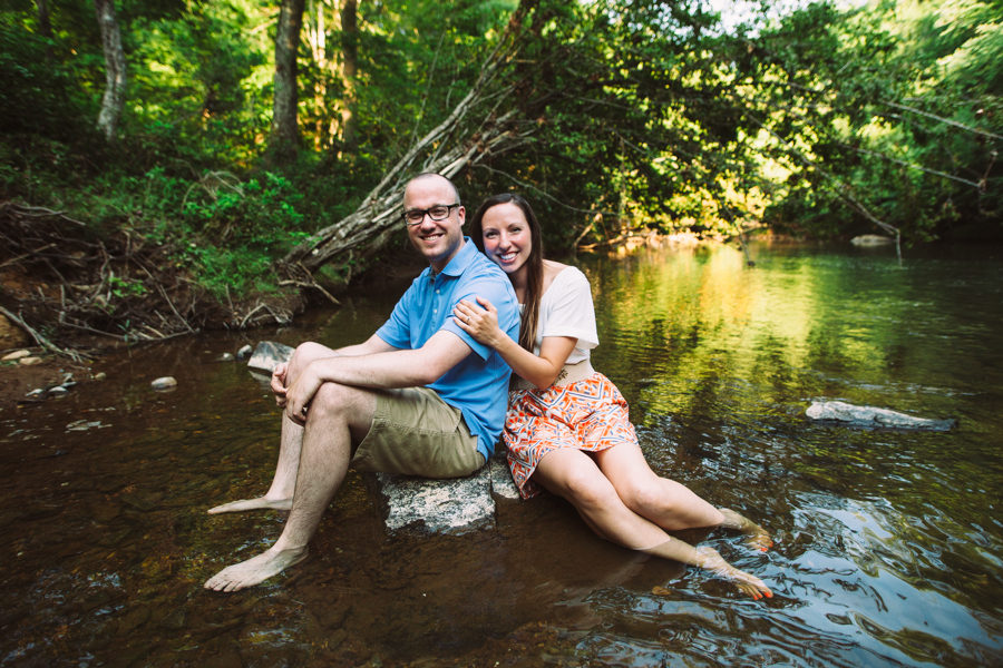 River Engagement Session :: The Arrow House