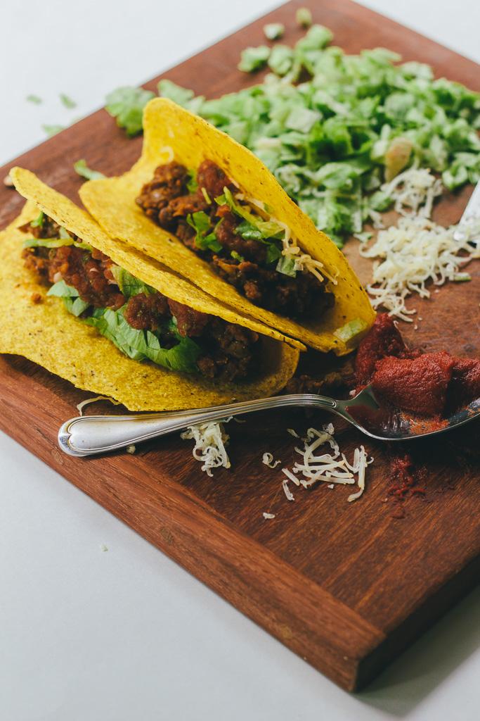 Lentil Tacos :: The Arrow House