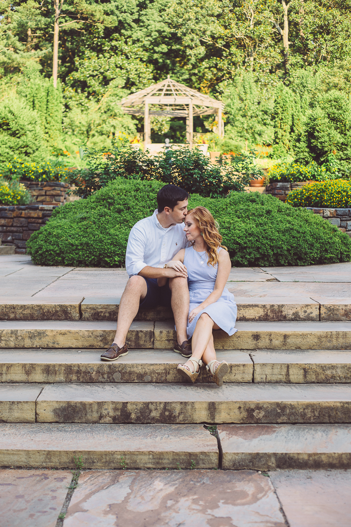 Duke Gardens :: Durham, NC Engagement :: The Arrow House