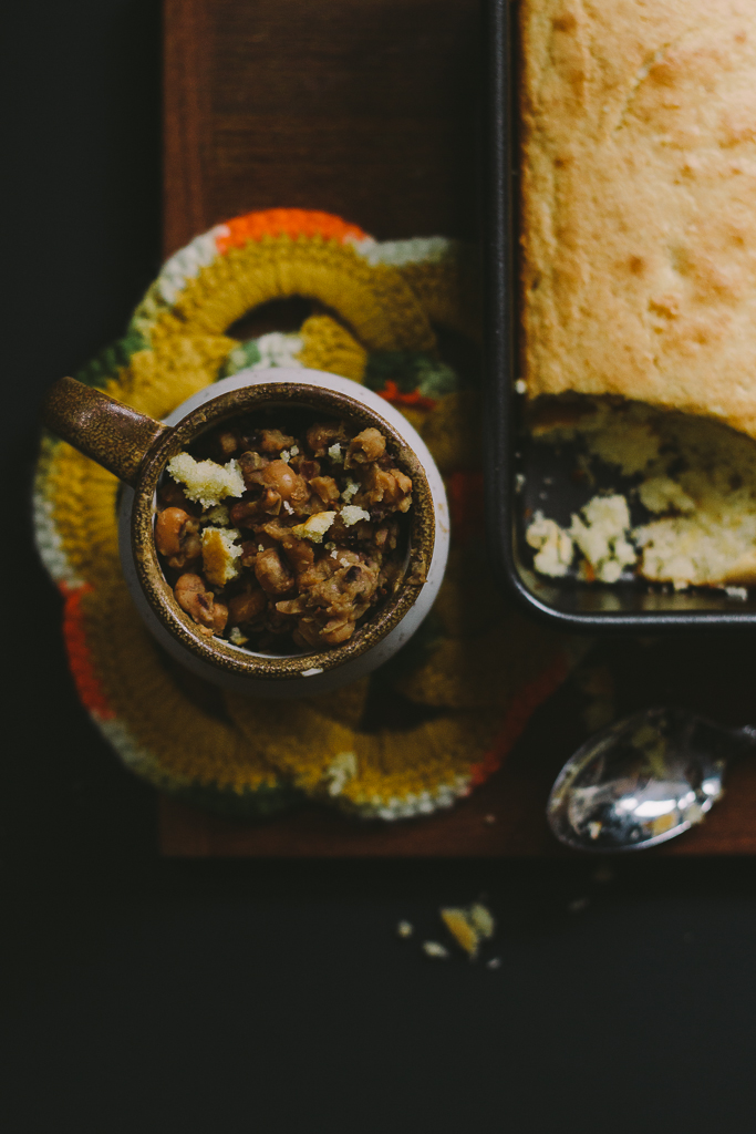 Crockpot Black Eye Peas and Ham :: The Arrow House