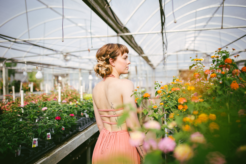 Greenhouse Shoot with Free People :: The Arrow House