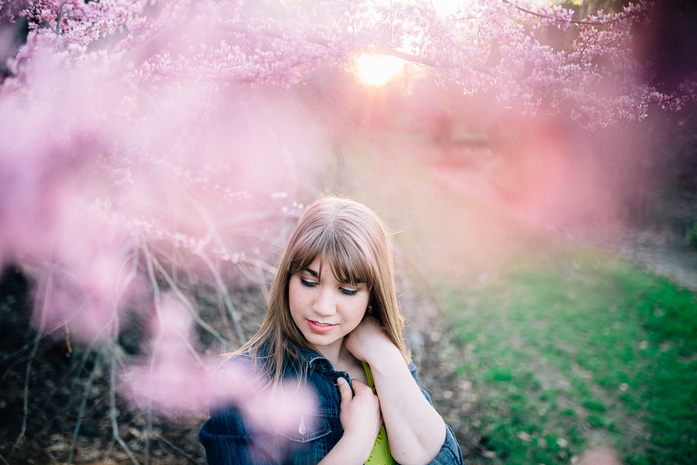 Abbie's Senior Session at the JC Raulston Arboretum :: Raleigh, NC