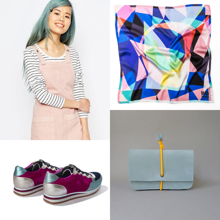 Clockwise from top left: ASOS, KEY by Mimi Hammill, By Marieke Jacobs, Rose Rankin
