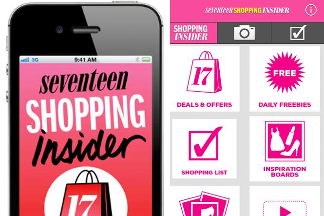Seventeen Shopping Insider App