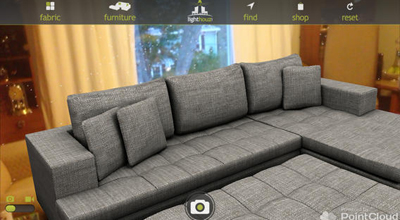 Lighthouz Furniture app screen shot
