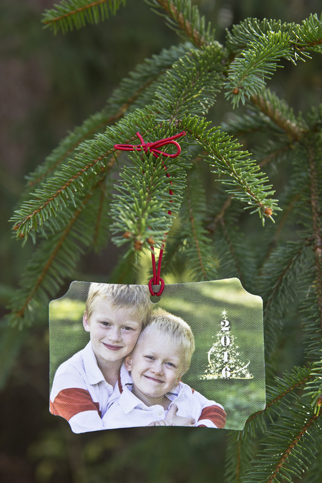 Classic Canvas Ornament with 2016 Sparkle Christmas Tree overlay (no additional charge) $15 each, minimum 4 canvas ornaments to order