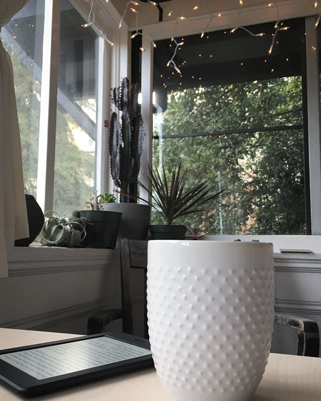 Morning ☕️ reading corner...