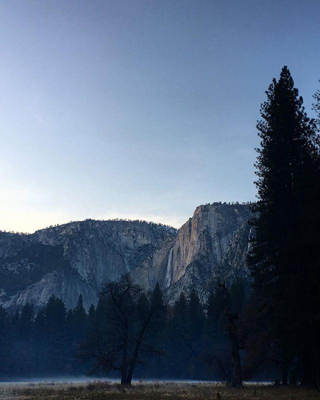 Twilight waterfalls