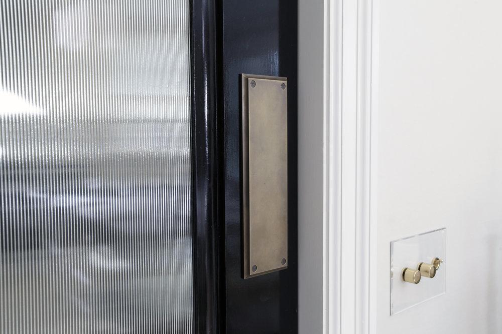 Classic door detail - Dining Room to Kitchen