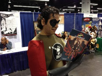 "Even super heroes enjoy ""The Thirty Six"""